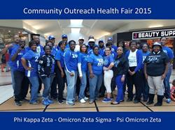 Click to view album: 2015 Community Outreach Health Fair